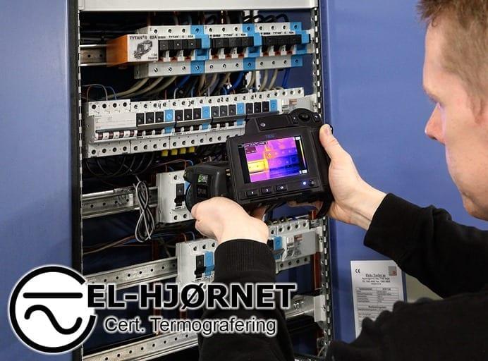 Termografering af el-installationer i Vejle, Kolding, Fredericia og Egtved