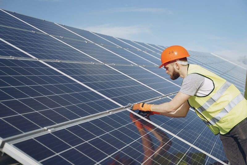 solceller industri Egtved